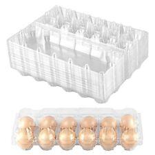 24pack Plastic Egg Cartons Bulk Clear Chicken Egg Tray Holder For Family Farm