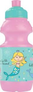 2-x-Mermaid-Kids-School-Water-Bottle-Drinking-Children-Boys-Girls-Picnic-Camping