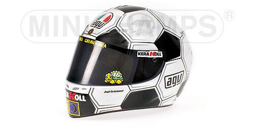 AGV Casque miniature Pilote Rossi GP Barcelone 1 2 Minichamps