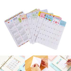 13Set-Set-2018-Kalender-Sticker-Notebook-monatliche-Kategorie-Sticker-Planner-SH