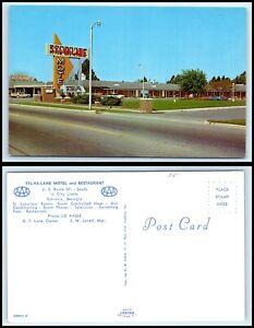 GEORGIA-Postcard-Sylvania-Syl-Va-Lane-Motel-amp-Restaurant-F47