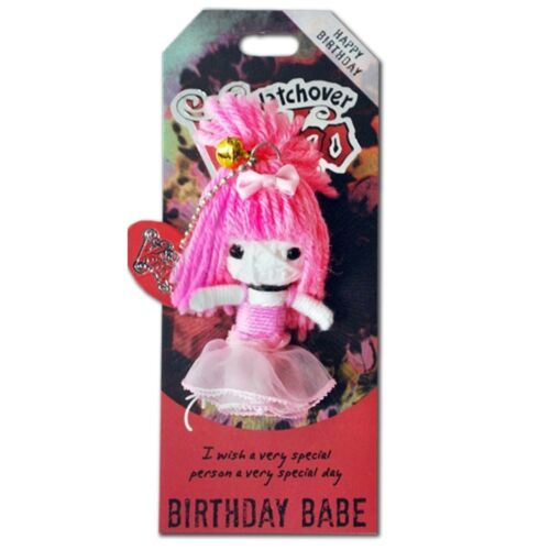 Watchover All Varieties Voodoo Doll Keyring Birthday Wedding Gift Free Delivery