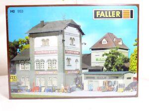 Faller 953 H0 Kit De Montage Fabrique Zahnradfabrik Voiture Moser &