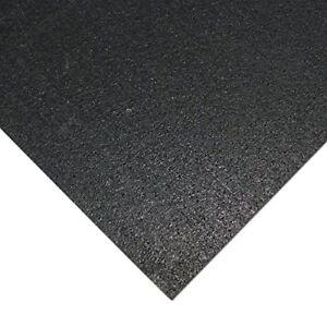 Heavy Duty Floor Mats >> Details About New Rubber Cal Elliptical Heavy Duty Floor Mat Black 3 16 Inch X 4 X 7 Feet