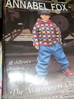 Annabel Fox The Watercress Children Knitting 18 Patterns Book