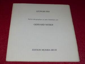 G-WEBER-LEONOR-FINI-EO-1-250-Signe-auteur-et-artiste-6-LITHOS-Introuvable