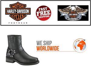 e833f739fc19c6 Harley-Davidson D94422 Men s El Paso Harness 7-Inch Motorcycle Boots ...