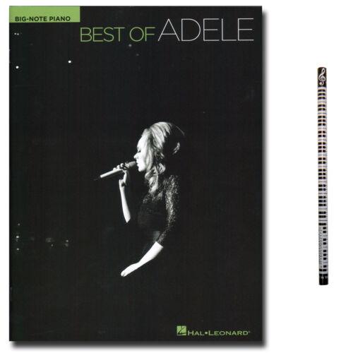 mit PianoBleistift HL308601-9781458465559 Klavier Noten Best of Adele