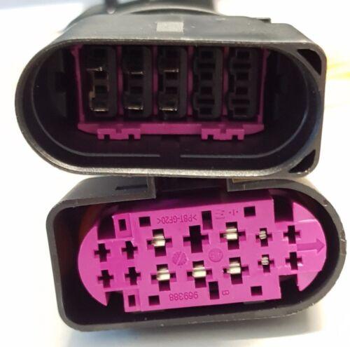 Adaptador de xenón para audi a4 8e b7 faros arnés Cable Enchufe Bixenon s4