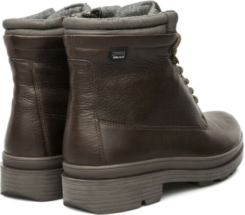 CAMPER HOT 1980 GTX GORE-TEX ANKLE BOOTS BROWN US 7 8 helix 36726-002 peu pista