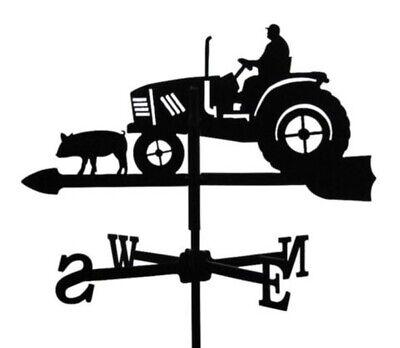 Vertical Fixing Bracket Standard Tractor Metal Weathervane