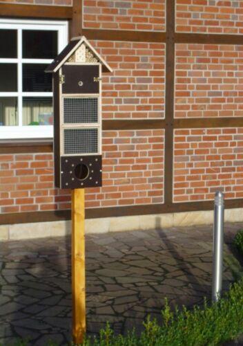 XXL Insetti Hotel Insetti Casa Mangiatoia Insetti bombi API resistente alle intemperie