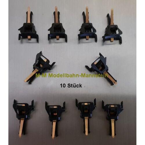 **Märklin E115737 10 x NEM Kurzkupplungkopf stromführend aus Set 72020//72021**