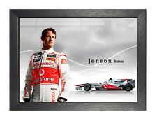 Mclaren Motivation Formula Sport Lewis Hamilton Racing Driver Poster F1-9
