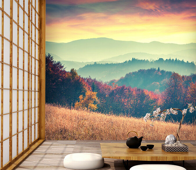 3D Nature Dusk Scenery 53 Wall Paper Wall Print Decal Wall Deco Indoor Murals