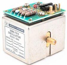 Hpagilent 5086 7314 23 61 Ghz Rf Coaxial Oscillator Module With5061 1066 Board