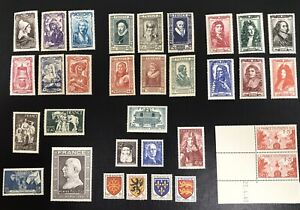 France-1940s-Collection-MNH