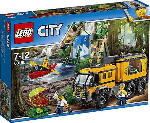 LEGO città (60160) Jungle  laboratorio mobile (& Nuovo Di Zecca Sigillato in fabbrica)  presa