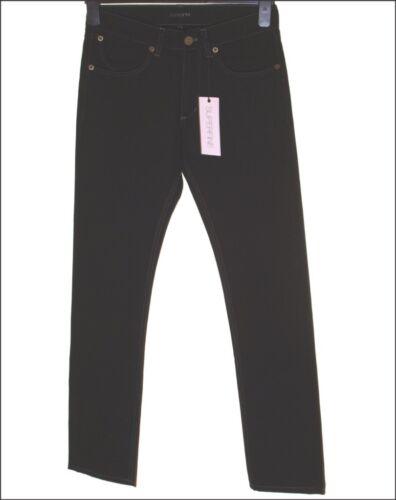 L33 Hommes Bnwt Skinny W30 220 Sly Neuf Jeans Noir Superfine Pour ZwZq0x1