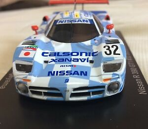 NISSAN-R390-GT1-1998-1-43-Model-Le-Mans-Cars-Collection-5-Without-Book-SPARK