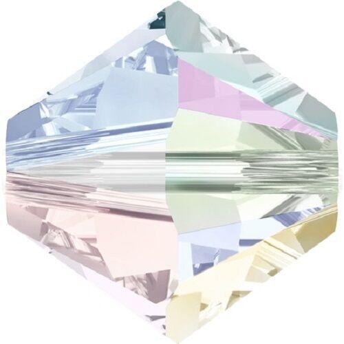 144 PEZZI Bicono Swarovski mm 4 Crystal AB