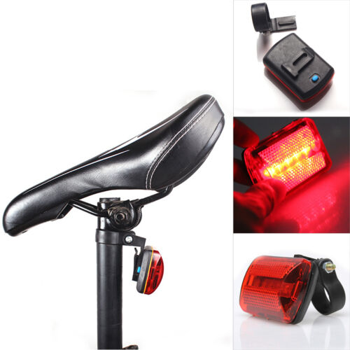 Bicycle Bike Cycling 5Led Plastic Tail Rear Safety Flash Light Lamp With Mount