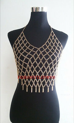 Fashion Style B12 Women Gold Plated Chains Jewelry Full Body Clothing Jewelry