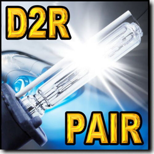 2x D2R Xenon HID Headlight Replacement bulbs for 2004 2005 2006 Volvo V70