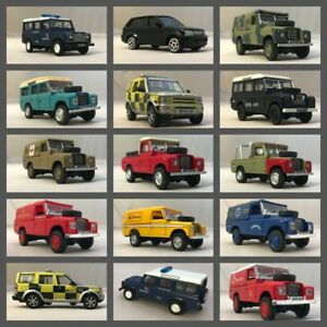 Land-Rover-Oxford-1-76-Diecast-RNLI-RAF-ARMY-POLICE-DISCOVERY-Free-Post-UK