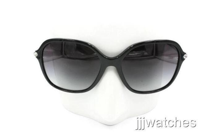 9cdd5df701b New Burberry Women Black Square Gray Gradient Sunglasses BE4228 30018G 57   290