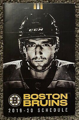nhl schedule bruins boston hockey