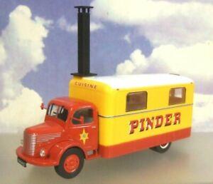 Direkt-1-43-Cirque-Pinder-Unic-Cuisine-Nourriture-Prep-Van-Camion-1952
