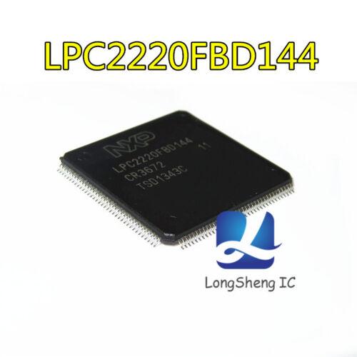 1PCS LPC2220FBD144 QFP-144 16//32-bit ARM NEW