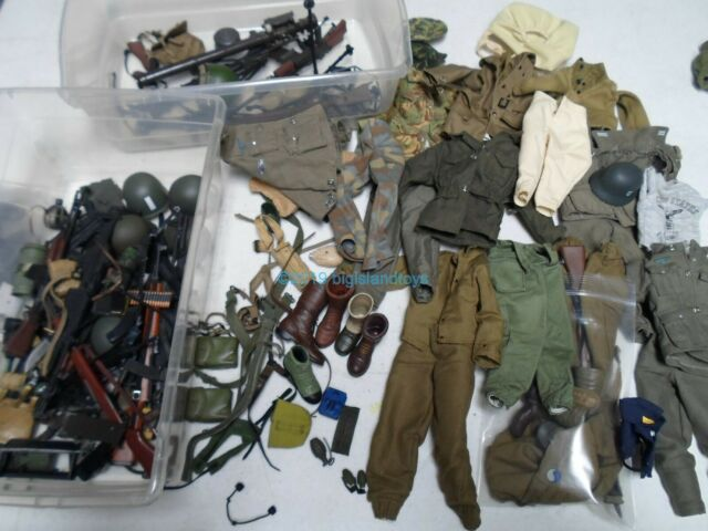 "1//6 ULTIMATE SOLDIER 12/"" figurine militaire Vietnam TUNNEL RAT dénudation M1 CARBINE"