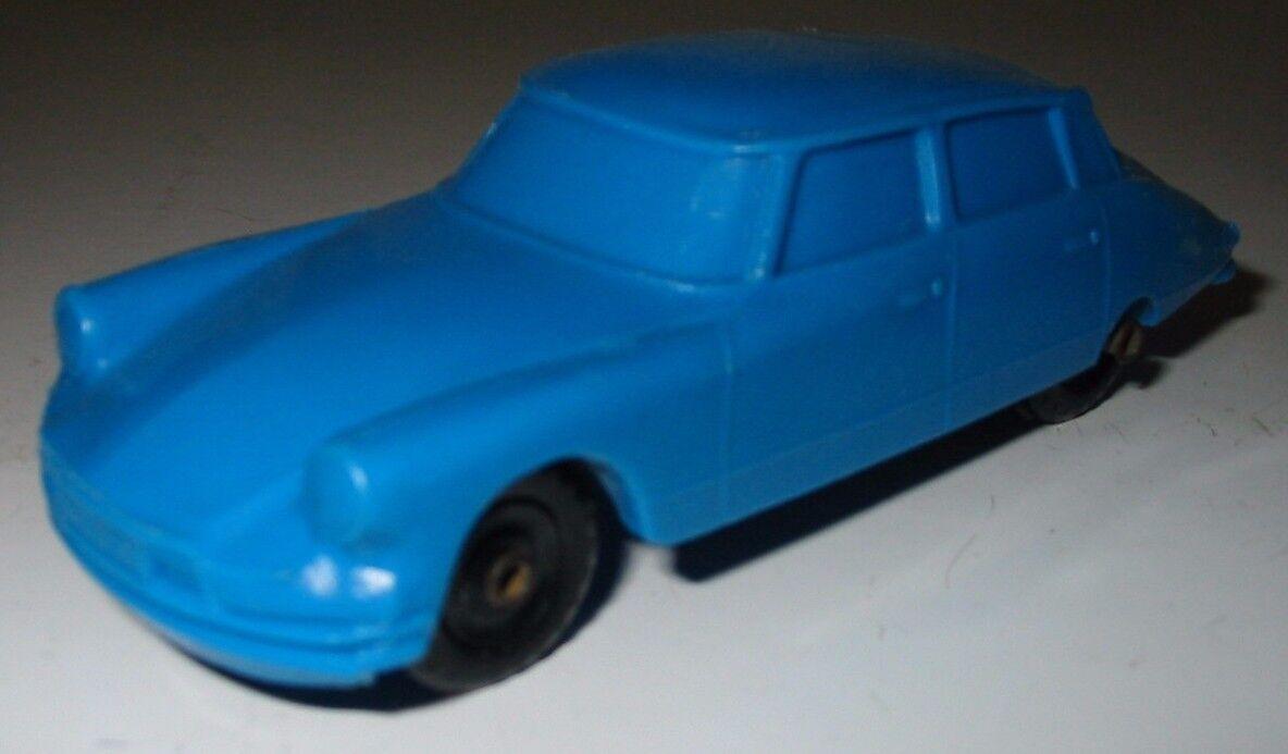 GOMMA AUTO CITROEN DS PALLAS la dea BLU GOMMA AUTO 1955 - 1967 rarità