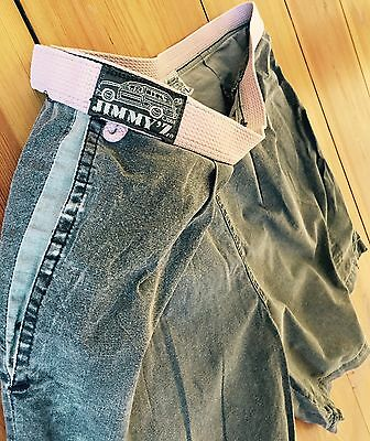 Bene Jimmy 'z Surf & Skate Vintage Shorts-pants Super Rare Size L/xl Deadstock-mostra Il Titolo Originale
