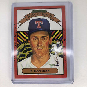 1989 Donruss Nolan Ryan #665 665 King of Kings Baseball Card Texas Rangers