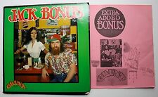 Jack Bonus Grunt Blues Rock LP 1972 Insert