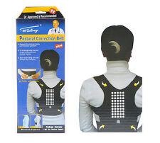 Unisex regolabile Posturale Correzione Cintura Supporto Sport controvento per spine / LOMBARE