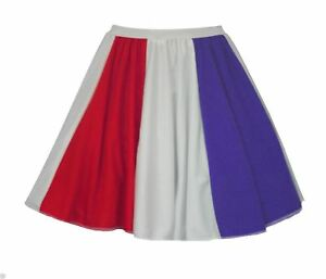 Ladies-Netherlands-Flag-15-034-Skater-Panel-Skirt-Patriotic-Amsterdam-Fancy-Dress