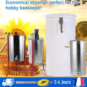 Extracteur-de-Miel-Electrique-manual-2-3-4-Cadres-en-Acier-Inoxydable-Plastique