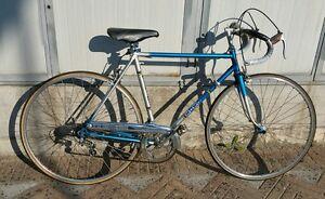 Dettagli Su Bicicletta Da Corsa Vicini Vintage