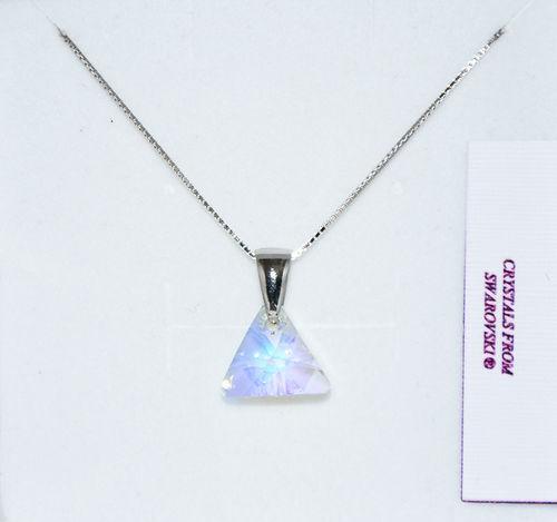 Women's Neclace Atelier silver 925 Pendant Swarovski Crystal Authentic