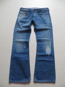 Diesel-ZATHAN-wash-0084R-Bootcut-Jeans-Hose-W-32-L-32-Vintage-KULT-Waschung
