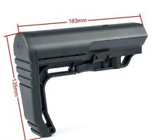 CALCIO SOFTAIR MFT STYLE M4 BK BIG DRAGON BD 3668 AIRSOFT M4 CQB CM16 STOCK