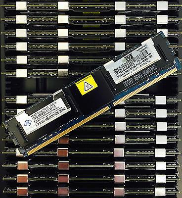 Genuine A-Tech Brand. 8 x 4GB for HP-Compaq Workstation Series xw6400 xw6600 xw8400 xw8600 DIMM DDR2 ECC Fully Buffered PC2-5300F 667MHz Server Ram Memory 32GB KIT