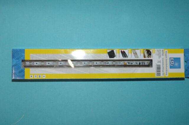 ESU 50702 Innenbeleuchtungs-Set gelb mit Schlußlicht für N,TT,H0