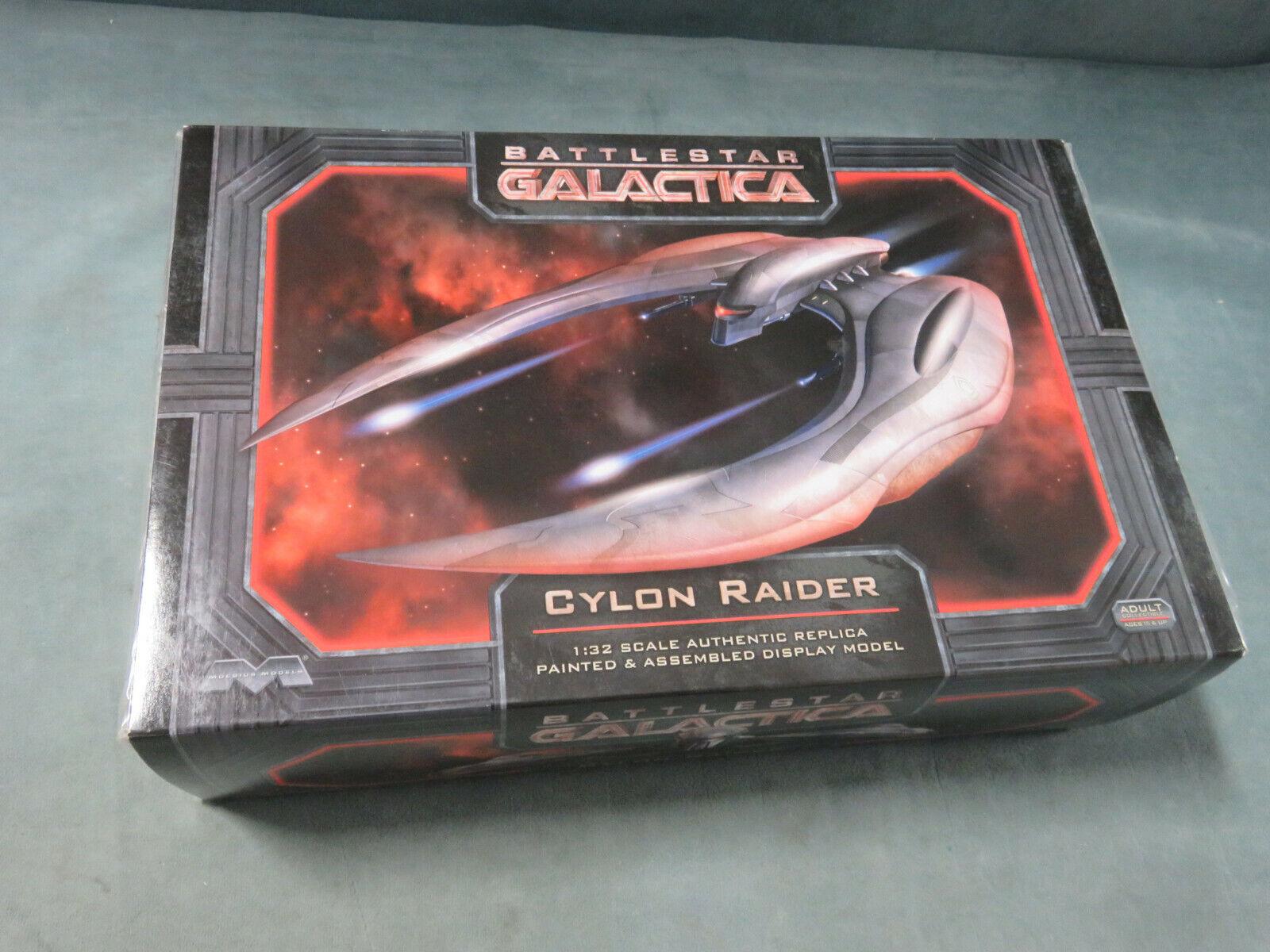 slåssstjärna GALACTIC Cylon Raider 1 32 skala RAME BEDÖDSmodellllerL Ny (2012)