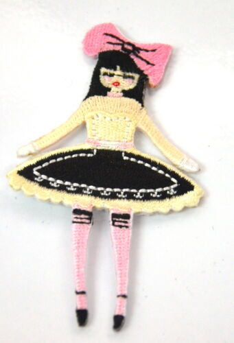 FRENCH CHAMBER MAID TUTU  Embroidered Sew On Cloth Patch Badge  APPLIQUE