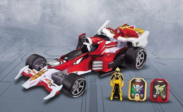Power rangers gokaiger megaforce turbo falcon megazord motor machalcon dx05 neue